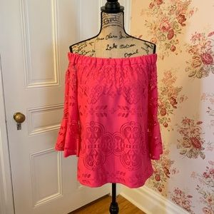 NWT NY&Co Lacey Off the Shoulders Blouse